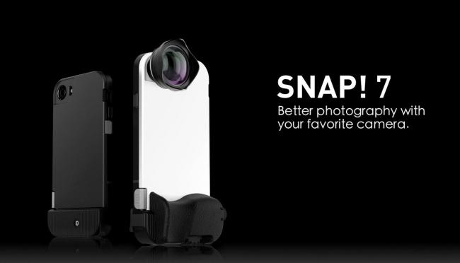 多彩なレンズラインナップ有、物理シャッター搭載のiPhoneケース「bitplay SNAP! 7」登場!
