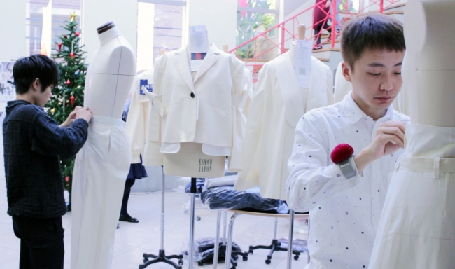 ラフォーレ原宿に「LA BOUTIQUE ESMOD」登場、新しい発想と縫製企業が生む新時代のエコファッション