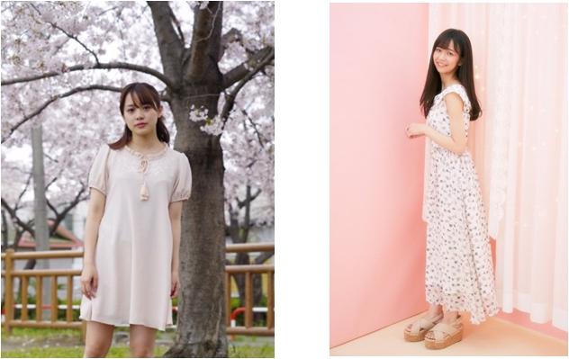 宮崎由加&奥仲麻琴  がevelynとコラボ!人気の刺繍ワンピース、花柄マキシワンピースが登場!