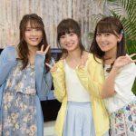2017年7月5日公開!AKB48入山杏奈、小嶋真子、武藤十夢がブラビアWEBムービーに登場!