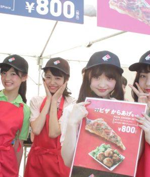 【アイドル横丁夏まつり!!】つりぼり・ピザ販売のお手伝い♪シブサンと楽しむアイドル横丁夏まつり