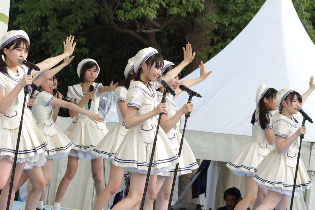 【TIF2017】AKB48 16期生がTIFで起こす新しい風!ヘビロテ、ポニシュを披露!