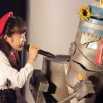 【@JAM EXPO】「さくちゃんとじぃじ」登場!熱いライブステージにロボじぃじも若返った気分に
