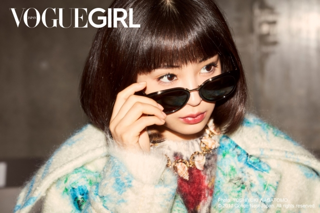 『VOGUE GIRL』GIRL OF THE MONTHに広瀬すず登場。テーマは「A LIFE IN FASHION」