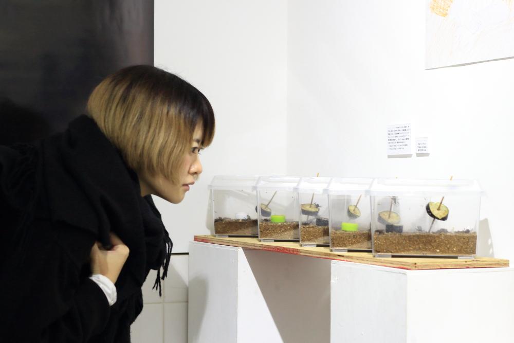 『アイドルと芸術』の出会いは意外な発見へ。参加者のちよこさんと見る展示会