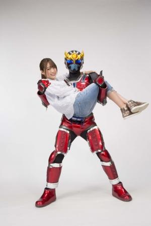 夢みるアドレセンス志田友美がテレビ岩手「鉄神ガンライザー」シリーズ初の女性主人公に!