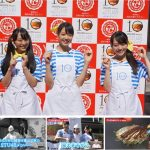 STU48今村、瀧野、土路生がお好み焼PRサポーター就任式!WEBムービー公開