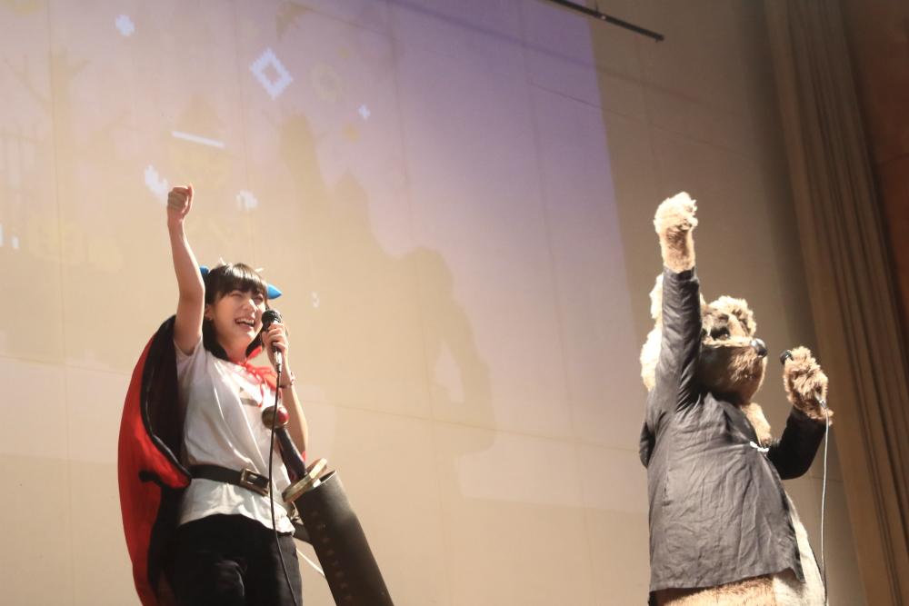 今川宇宙×黒魔「よるごはん探検隊」がドット絵の祭典「Pixel Art Park 4」にて初ライブ!