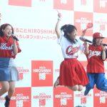 うえむらちか、カープ女子応援ソング『鯉スル乙女』を東京初披露!ブース訪問やインタビューも