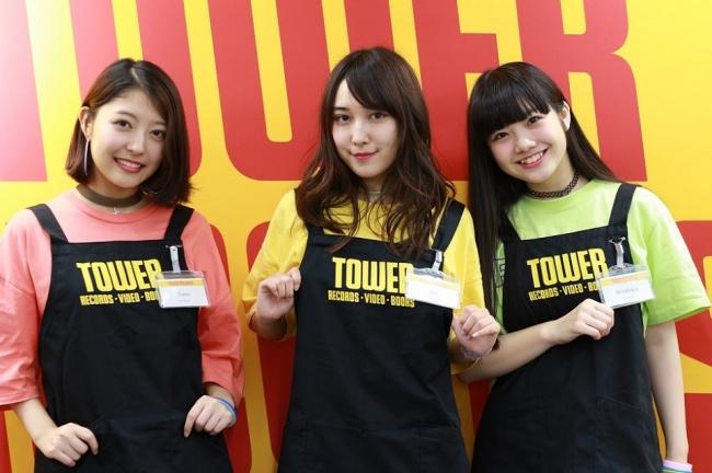 女子高生グループJ☆Dee'Z、人生初のアルバイトでタワレコ店員に初挑戦!!バイトシフト発表!