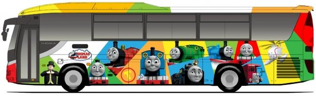 「トーマスカラフル柄」イメージ