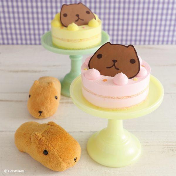カピバラさん ベリ~ンショートケーキ