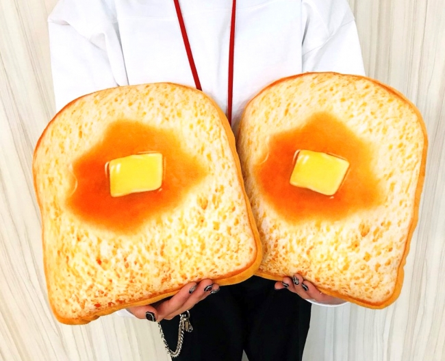 トースト クッション