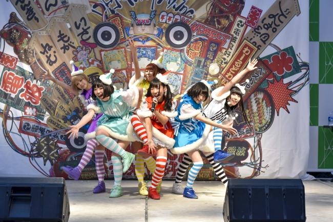 でんぱ組.incが最新曲『WWDBEST』を初披露!ラゾーナ川崎にて「スペシャのヨルジュウ♪」公開収録実施!