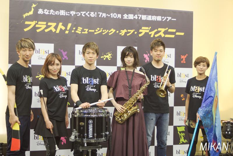 ぱるる「ブラスト!:ミュージック・オブ・ディズニー」応援サポーターに!東京公演にはサックスで出演も!