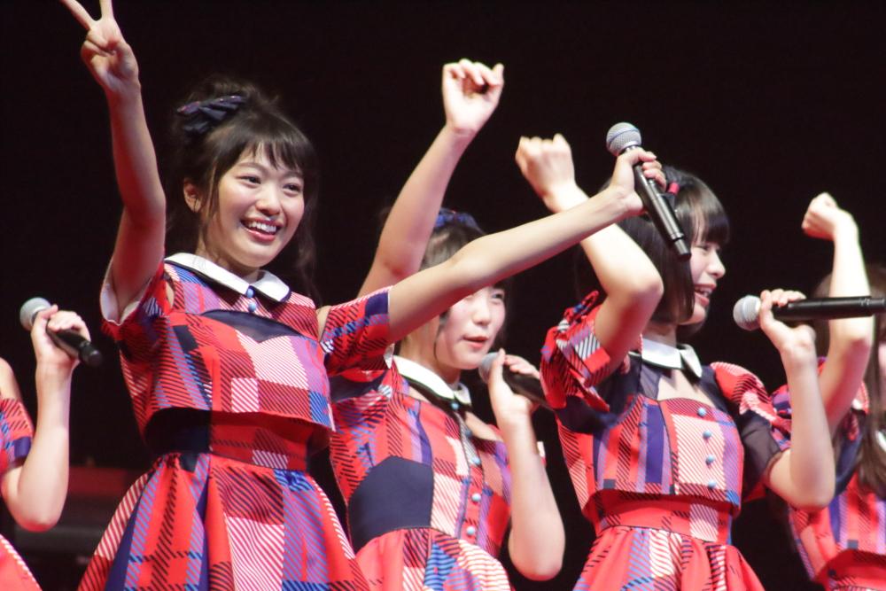 【@JAM EXPO】NGT48が@JAM初参加!『Maxとき315号』など元気にパフォーマンス!!