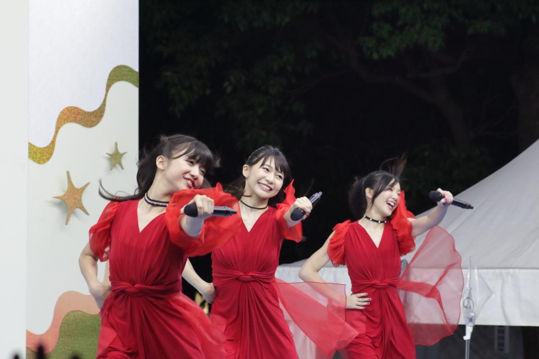 【TIF2017】SMILE GARDEN終盤!東京女子流・全てのファンの『おんなじキモチ』