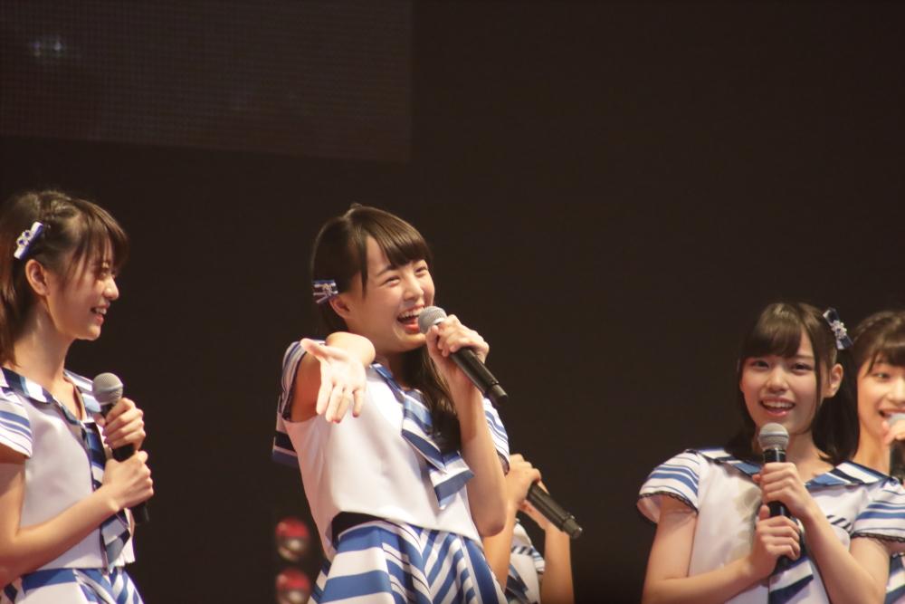 【@JAM EXPO 】ストロベリーステージにSTU48!愛の告白に会場も笑顔!!