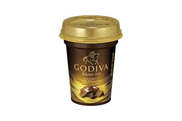 チルドカップドリンクに「GODIVA ミルクチョコレート」!表参道に撮影スポットも登場!