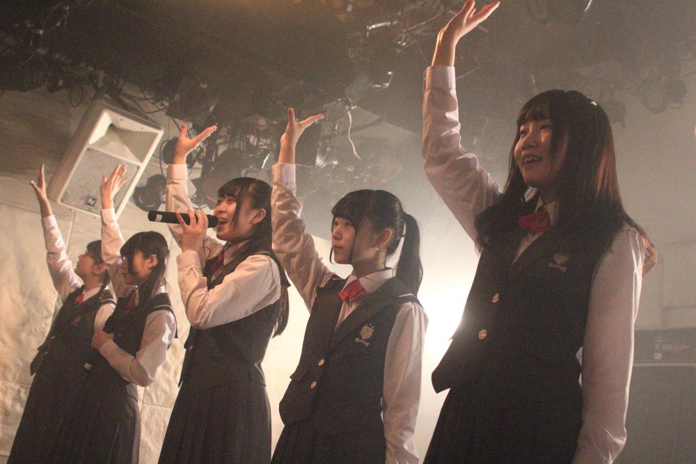 「tipToe.」1stフルアルバム発売記念ワンマンライブ!アルバム曲順に合わせた全曲を披露