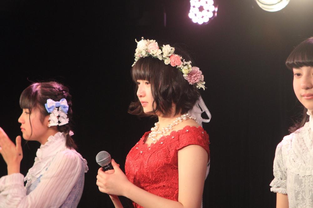 ハコムス鉄戸美桜卒業公演。最後も笑顔の花を咲かせながら「ごきげんよう」