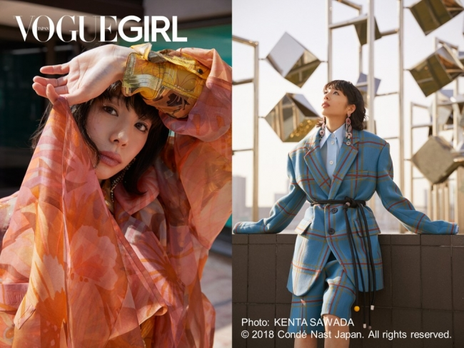 「GIRL OF THE MONTH」夏帆