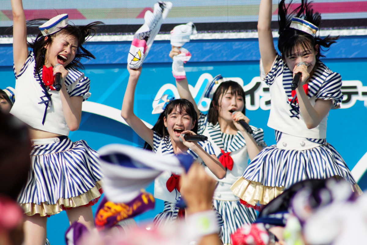 【TIF2018 / REPORT!】松岡はな・村川緋杏・荒巻美咲らHKT48の若年メンバーが最高の灼熱ステージ!
