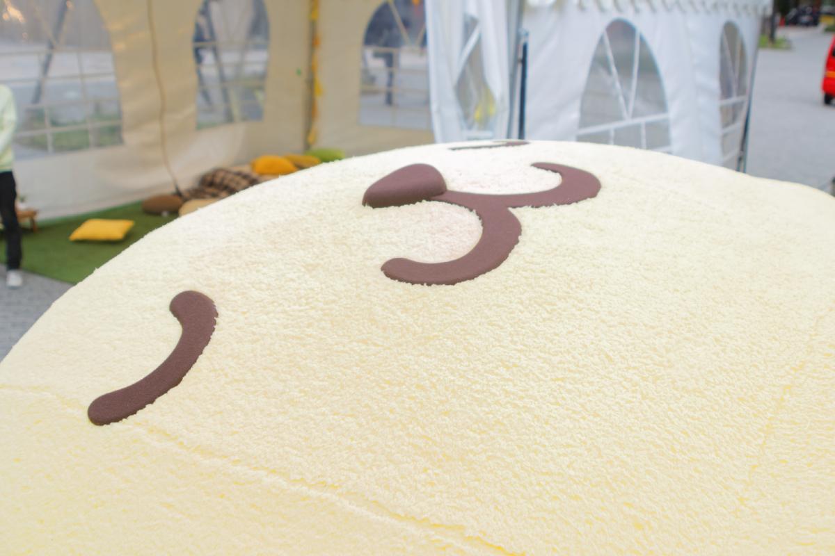 大きなプリンくんの「ポムポムプリンのおひるねパーク」が中野にも登場!広々とした場所でさらに癒し効果UP!