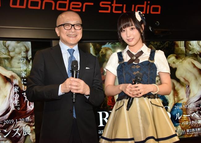 山田五郎とSKE48鎌田菜月が「ルーベンス展-バロックの誕生」開催記念トークショー!その魅力を紐解く