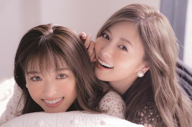 白石麻衣×松村沙友理の仲良しすぎるふたりが初ツーショットカバー!「CanCam」1月号でふたごな表紙