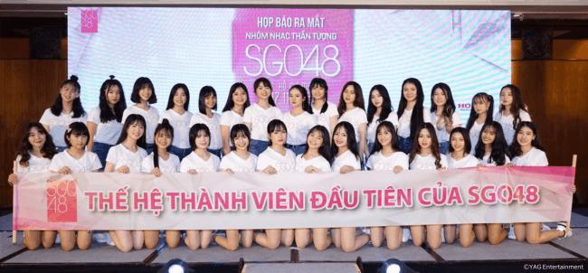 AKB48ベトナム公式姉妹グループ『SGO48』第1期生29名決定!! オーディション応募総数7,627名