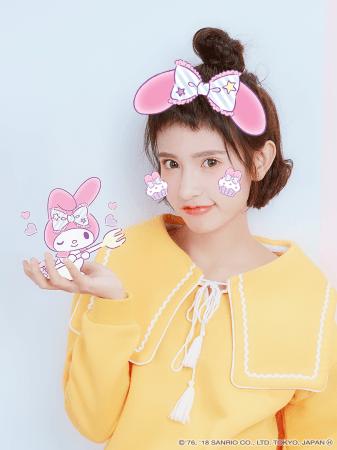 カメラアプリ「BeautyPlus」が、サンリオキャラクターとのコラボARフィルターを追加!