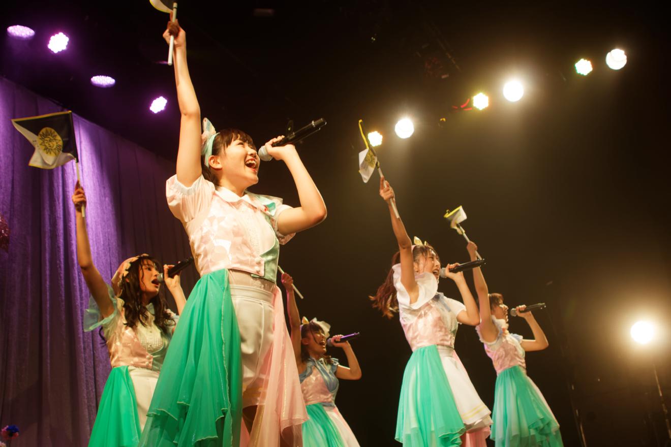 【はちみつロケット・ワンマン2DAYSレポ!】2日目「光のスウィートカーニバル」で、Zepp Tokyoワンマン発表!!