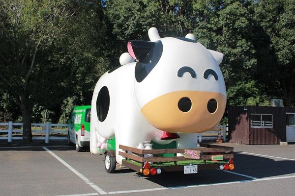 成田ゆめ牧場が「ゆめこちゃんのキッチンカー」を導入!首元の鈴や鳴き声スイッチも搭載