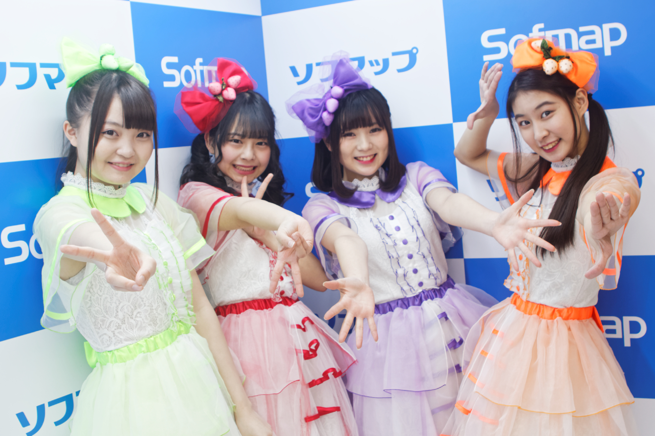新メンバー・藤田梨々花加入の「いちごみるく色に染まりたい。」の定期公演がスタート!囲み取材レポート