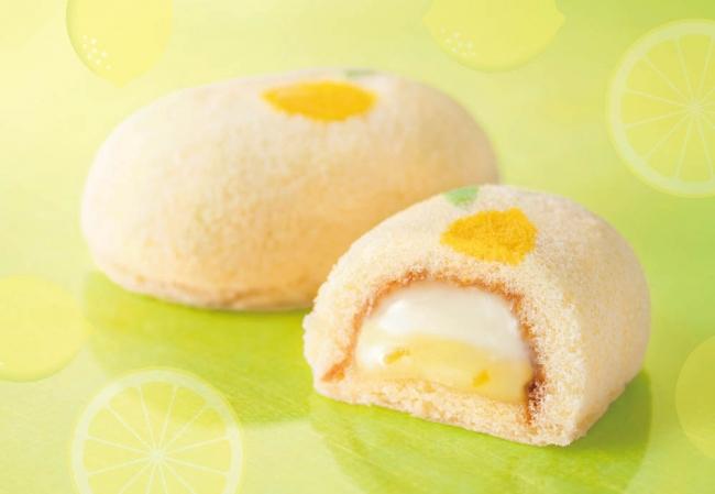 東京ばな奈から春のレモンケーキが登場! 爽やかダブルクリームの『「銀座の春先きレモンケーキ」です。』