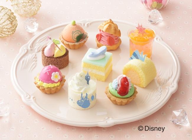 銀座コージーコーナーから3人のディズニープリンセスデザインの「ひなまつり」限定プチケーキセットが登場