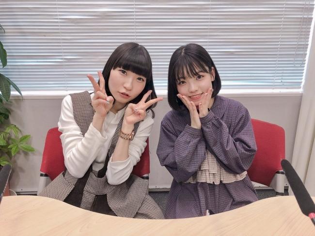 藤咲彩音(でんぱ組.inc)と髙橋彩音(AKB48チーム8)の2人の「彩音」によるラジオ番組「あさやね!」が4月6日放送開始