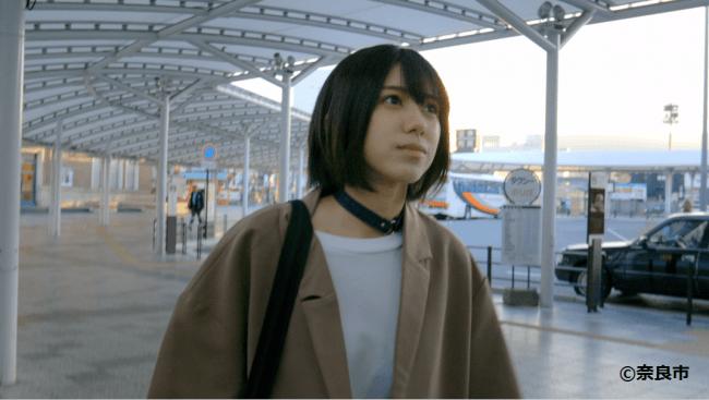 奈良市観光大使・大西桃香(AKB48)出演「奈良市リニア新駅誘致PR動画」が新宿・梅田・難波の大型ビジョンで放映!
