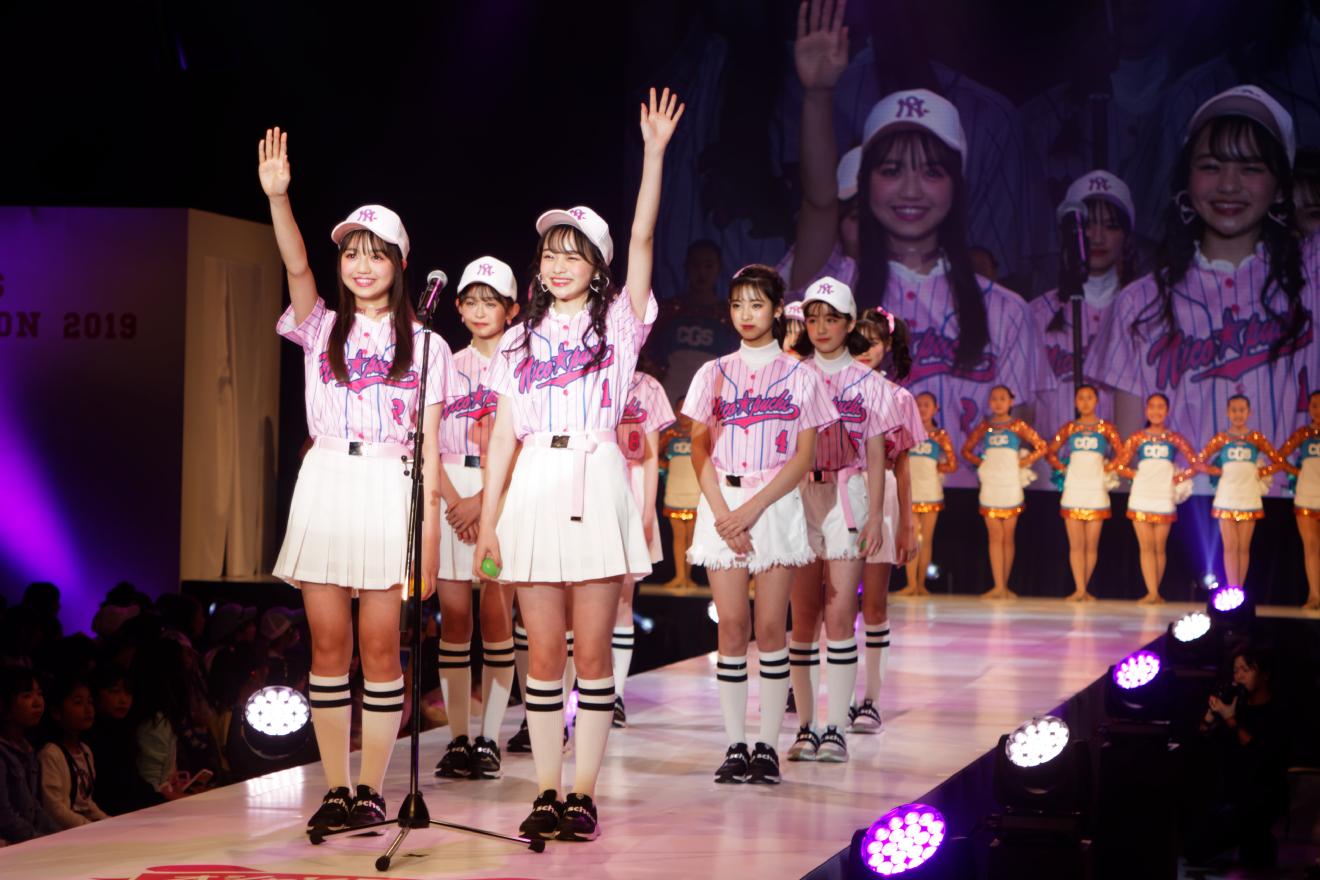 雑誌『ニコ☆プチ』主催「ニコ☆プチガールズコレクション2019」!甲子園をテーマに宣誓、そしてプチ㋲卒業式に涙