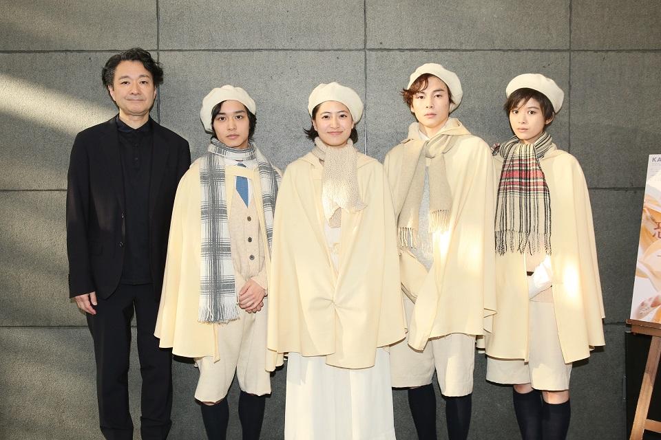 南沢奈央、馬場ふみから出演、神奈川芸術劇場プロデュース 『恐るべき子供たち』上演開始!囲み取材コメント