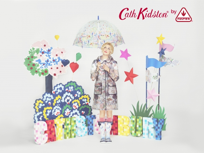 ロンドン生まれのキャス キッドソンからハッピーレイングッズ!憂鬱な雨も楽しい時間に