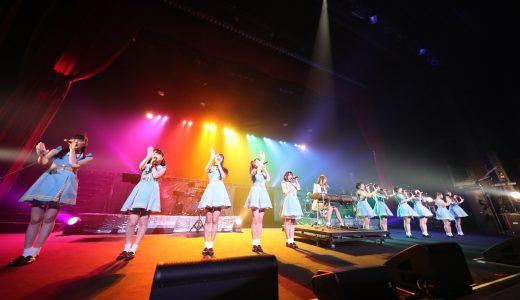 虹のコンキスタドール『RAINBOW JAM2019』に 2,000人が大熱狂!ツアー開催、鶴見萌主演映画など7つのサプライズ発表も