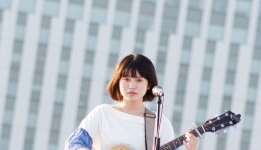 原田珠々華がSKY STAGEに「ただいま。」、ギター一本の弾き語りで歌声を遠く響かせる【TIF2019レポート】
