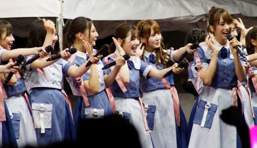 【TIF2019レポ!】日向坂46が2日目SMILE GARDENのトリで登場!笑顔全開で最高のステージに