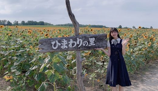 マジパン・清水ひまわりがひまわり観光大使に!日本一のひまわりの里・北海道北竜町を盛り上げる