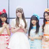 いちごみるく色に染まりたい。に元乙女新党・長谷川愛里が加入!定期公演にて登場、意気込みを語る