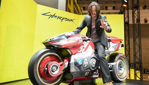 キアヌ・リーブスさんが東京ゲームショウ2019 『サイバーパンク2077』ブースにサプライズ来場!単独インタビューも公開