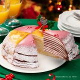ドドールが11月より数量限定の「クリスマスミルクレープ」の予約開始!定番&いちごの2つをアソート