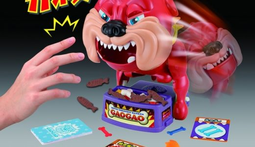 何回遊んでもビックリ仰天!コワイ…でも面白い!でおなじみの「番犬ガオガオ」がシリーズ累計400万個突破